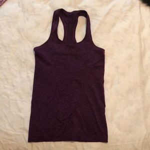 Lululemon purple tank top